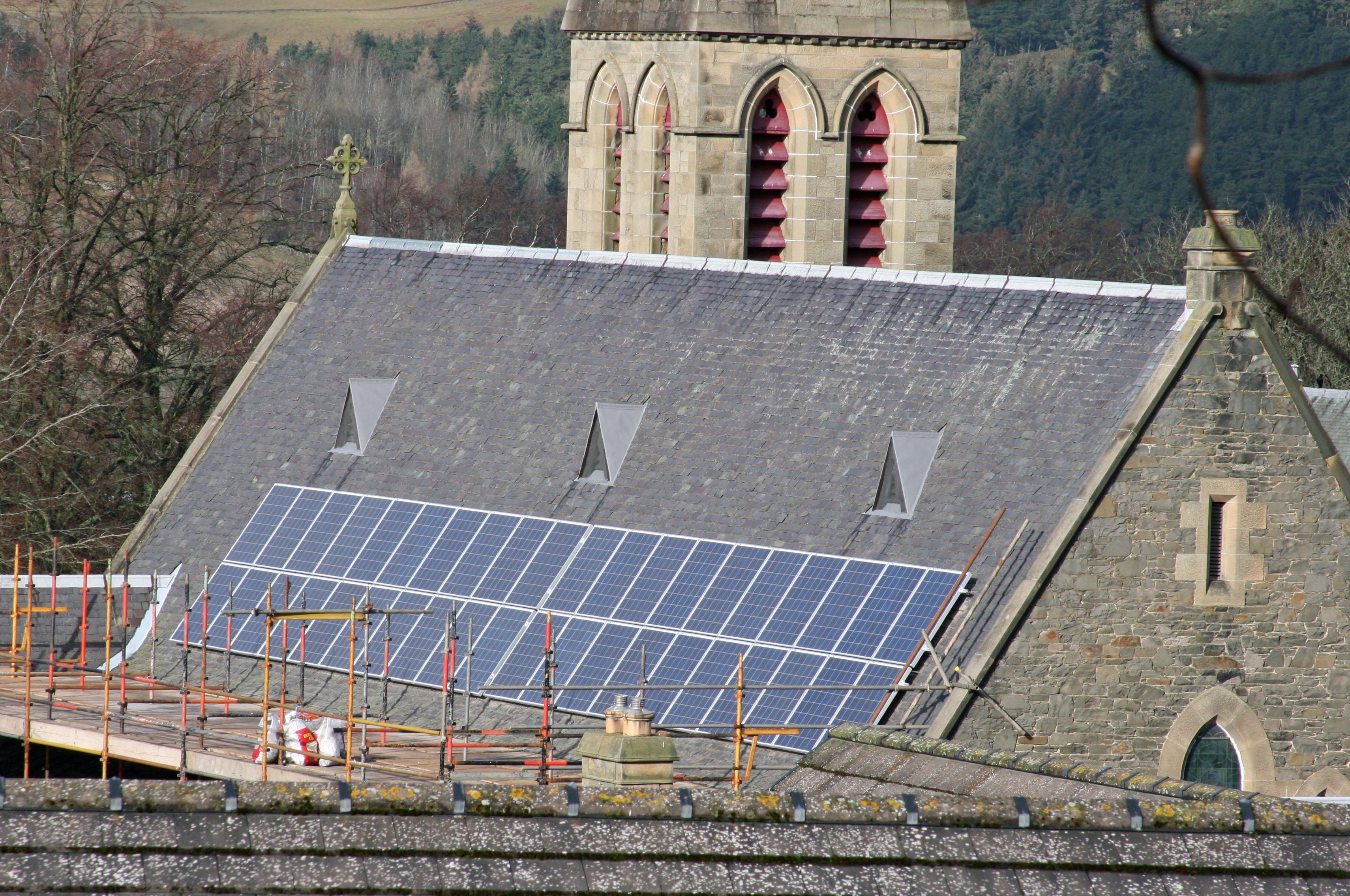 Solar Panels on Church Roofs